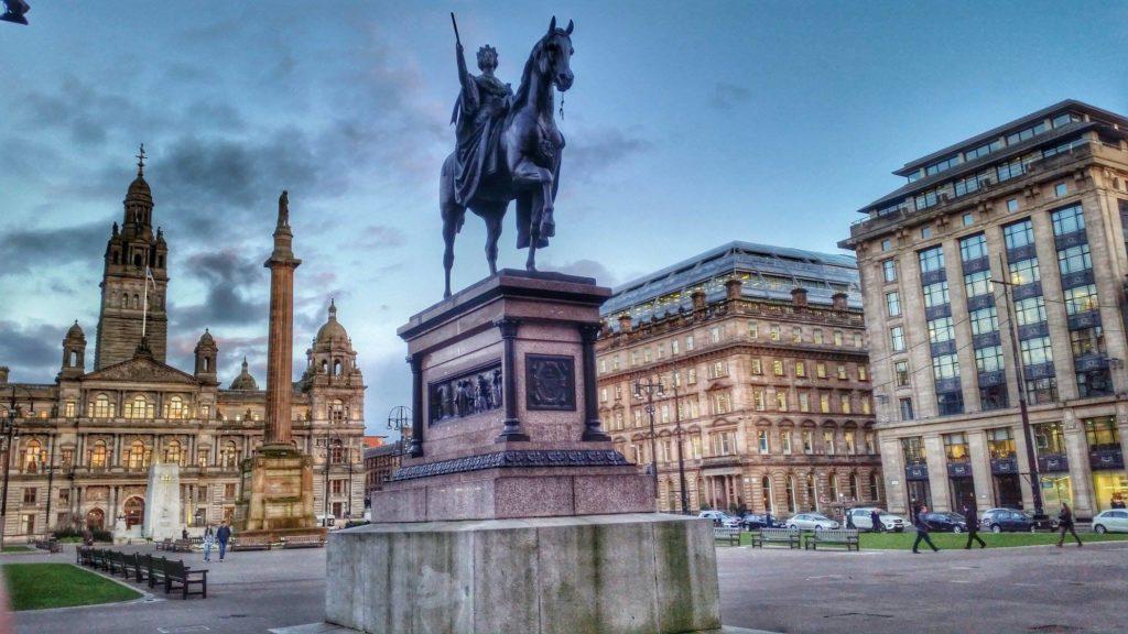 George Square, Alun-Alun Kota Glasgow
