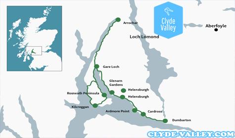 Rute Bersejarah Lembah Clyde Skotlandia Yang Luar Biasa