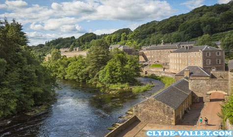 New Lanark Mills World Heritage Site