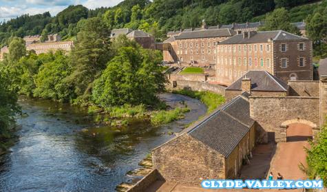 Rute Turis Nasional Skotlandia Clyde Valley