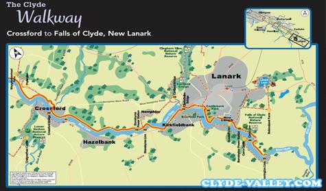 Panduan Wisata Clyde Walkway Rute Perjalanan Sejauh 8 Mil