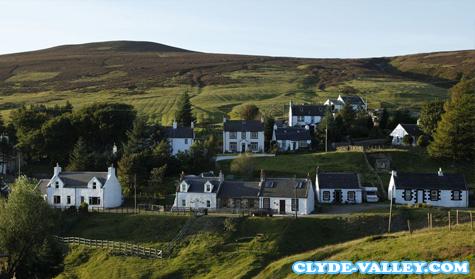 Wanlockhead Desa Tertinggi di Skotlandia
